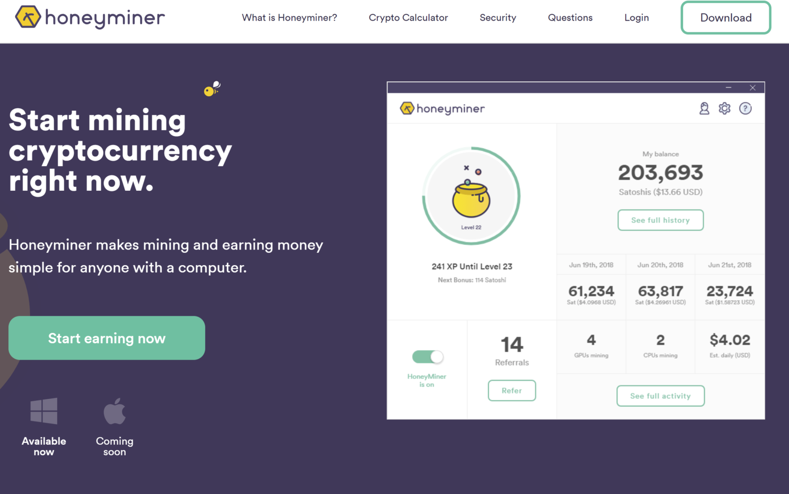 What is Honeyminer? Mining Bitcoins For Free - Blockchain SEO