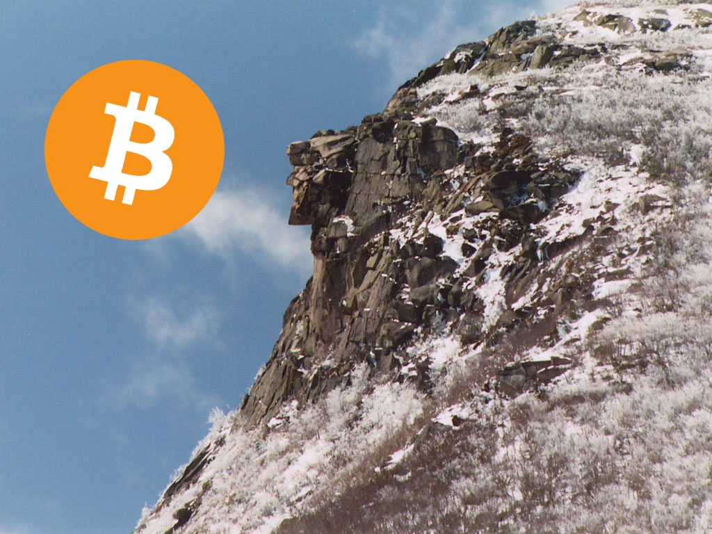 old man in the mountain bitcoin