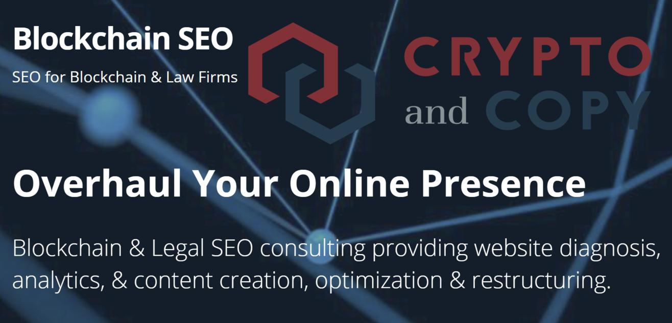 Blockchain SEO Crypto And Copy Partnership