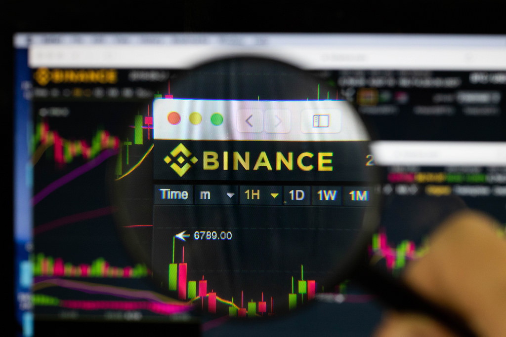 Binance trading interface debit credit card purchases