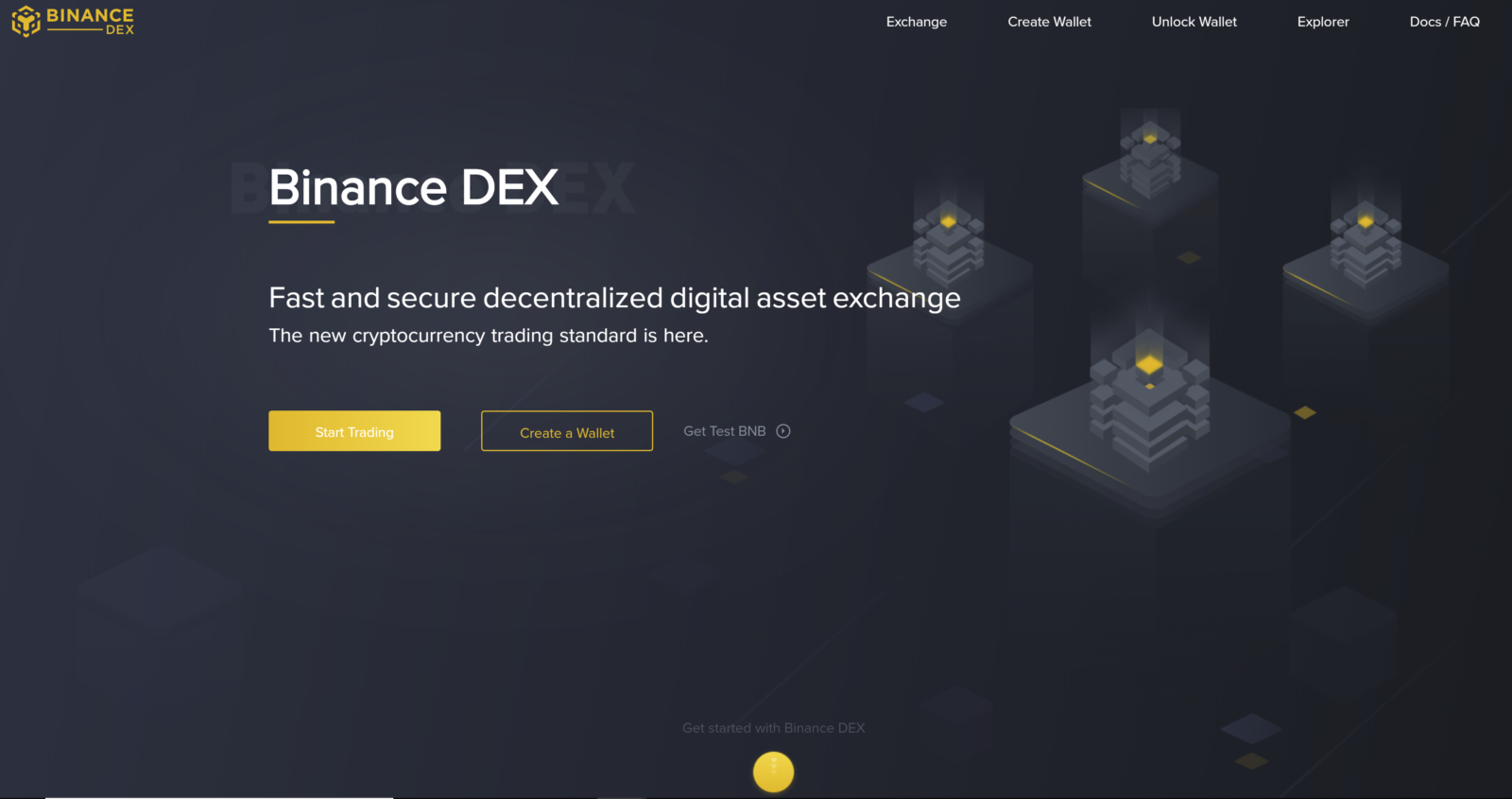 Binance DEX Testnet Launch