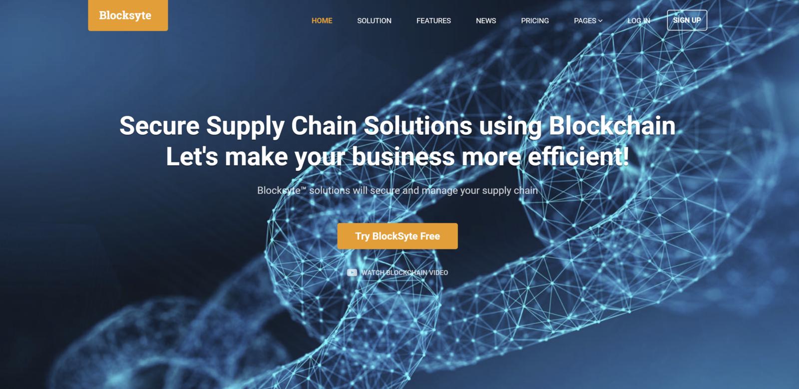Blocksyte logo