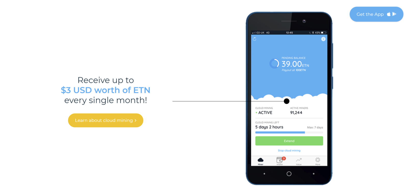 Electroneum ETN Android Smartphone Mining