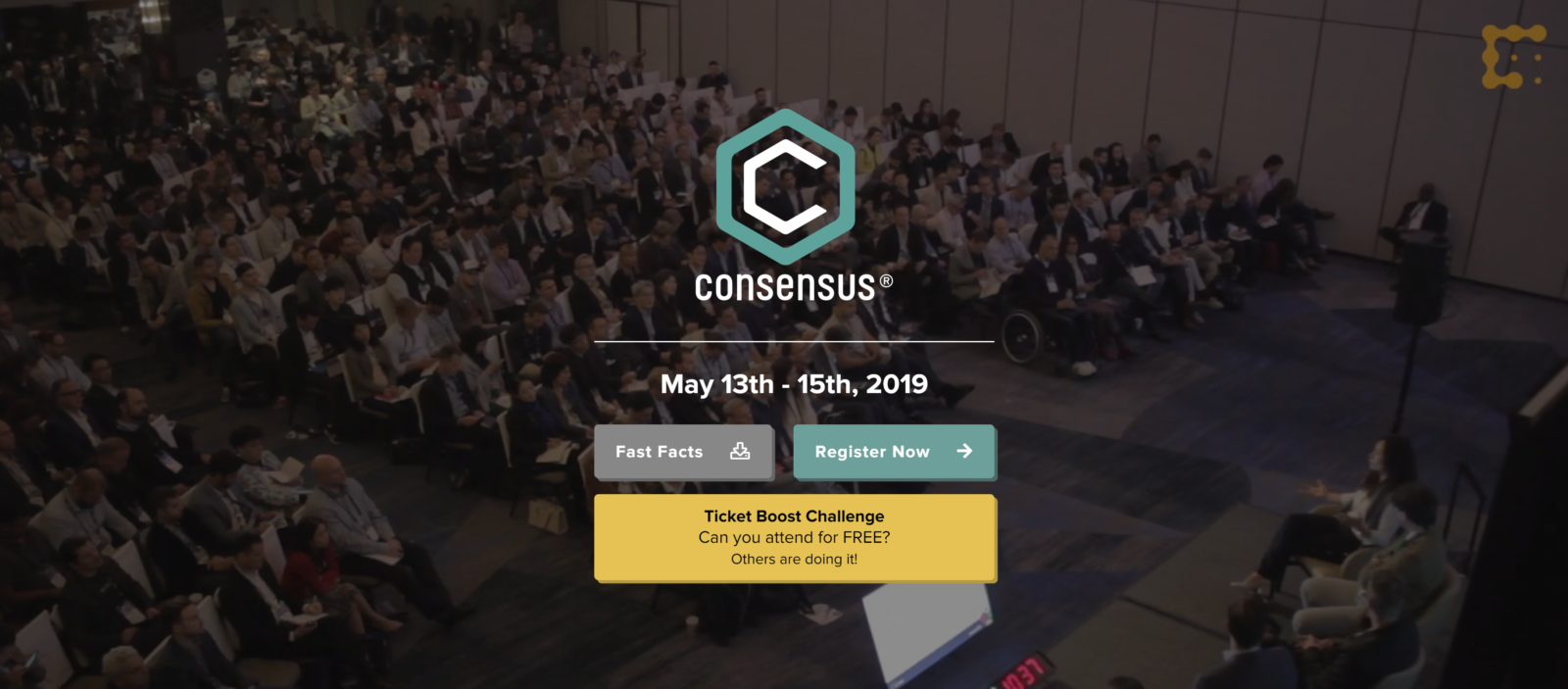 Consensus blockchain conference 2019