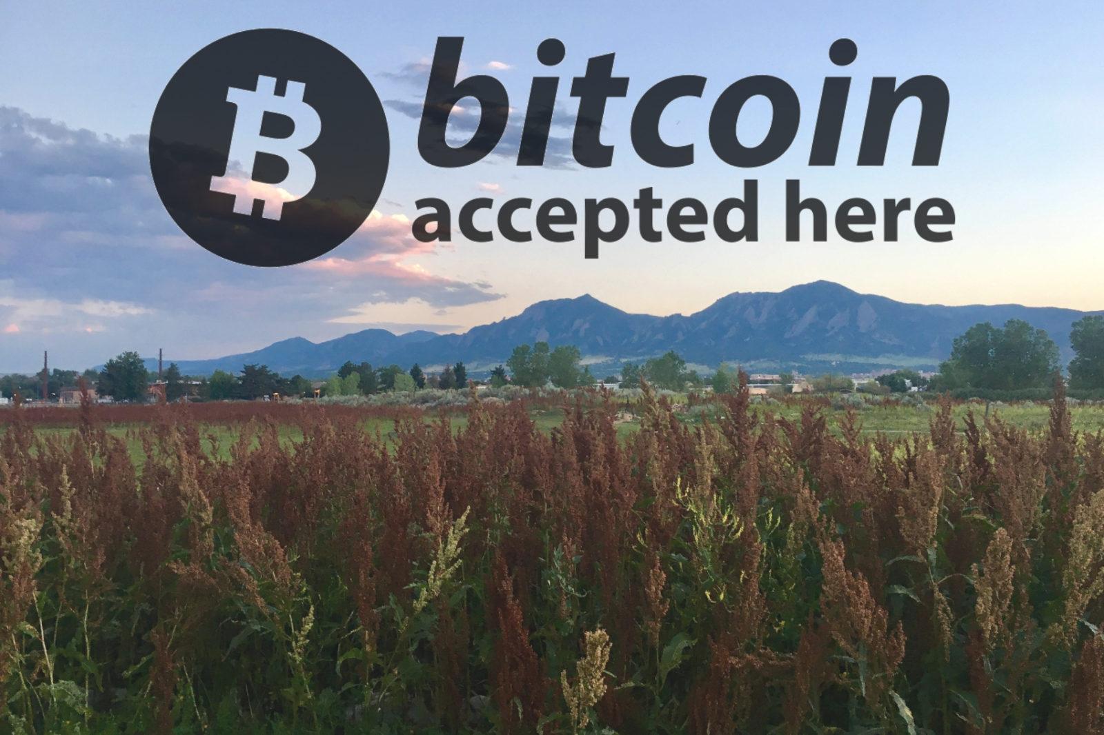 Boulder Bitcoin Helping Hands Herbals