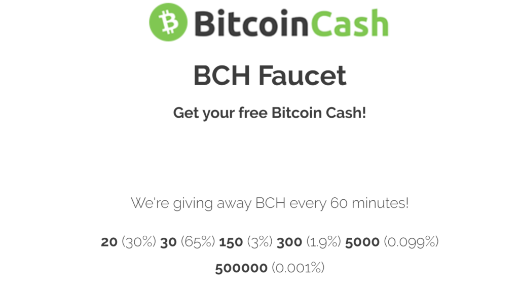 BCHFaucet.Info