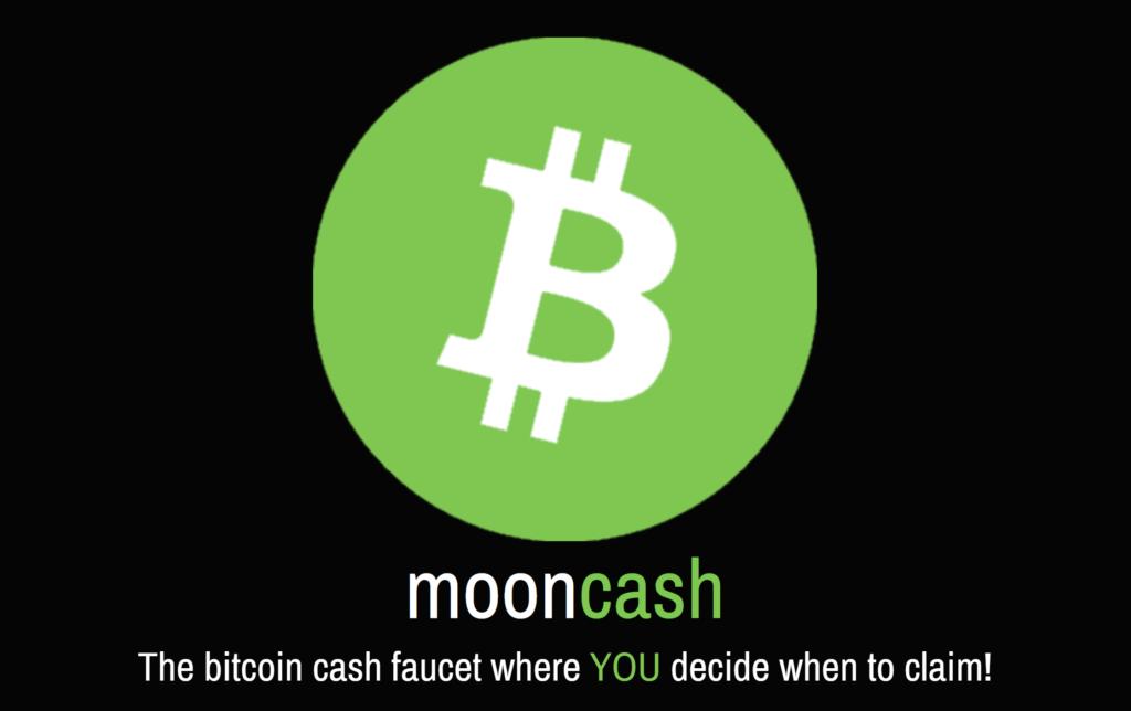 Moon Bitcoin Cash Faucet